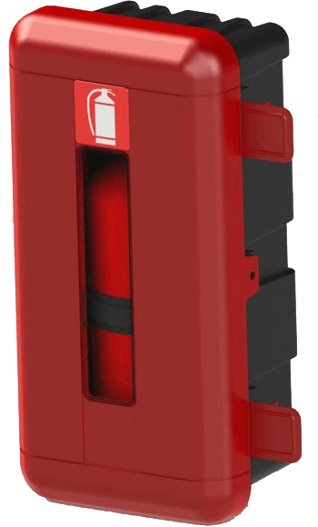 Feuerlöschboxen / Unterlegkeile